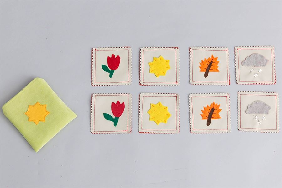 Zeki Learning Seasons Mini Memory Game Memory games Zeki Learning