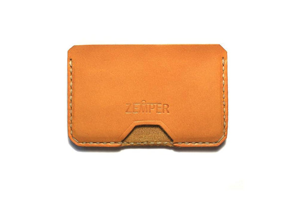 Zemper Goods Five Card Wallet - Gold Zemper Goods