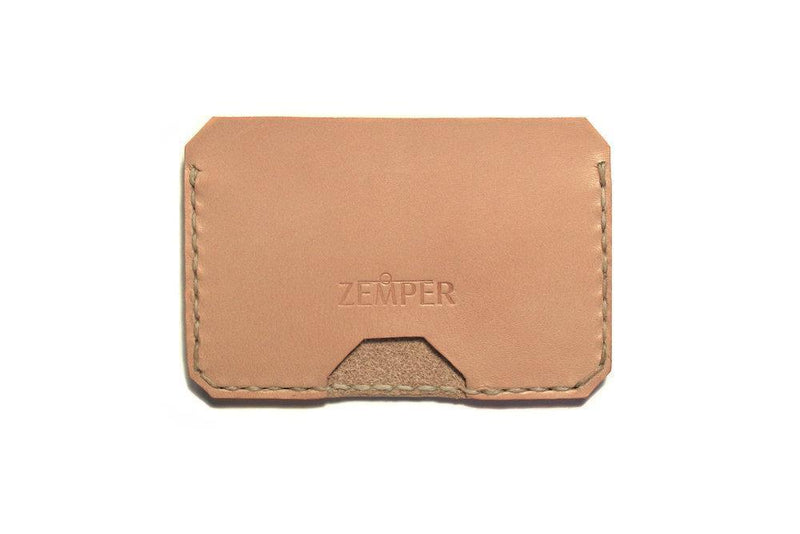 Zemper Goods Five Card Wallet - Natural Zemper Goods