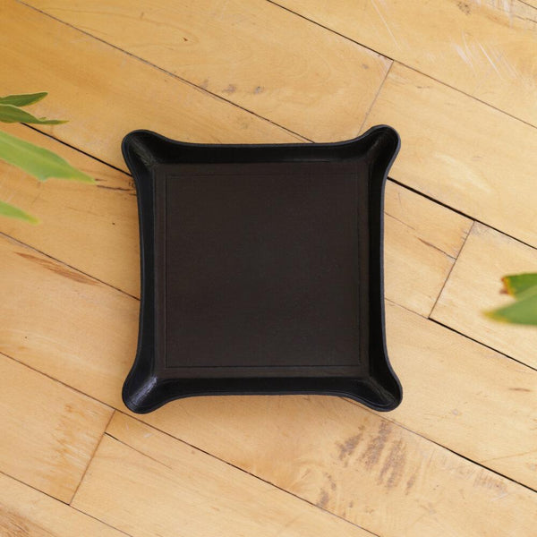 Zemper Goods Leather Catchall - Black Zemper Goods