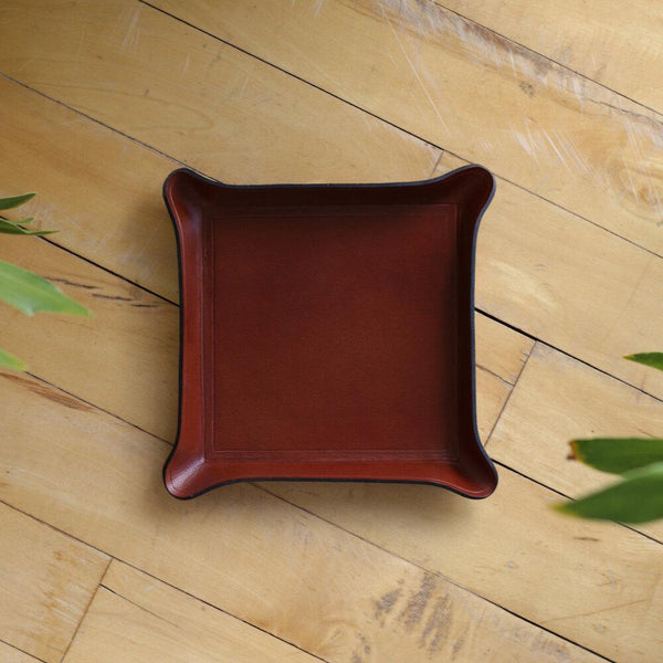 Zemper Goods Leather Catchall - Brown Zemper Goods
