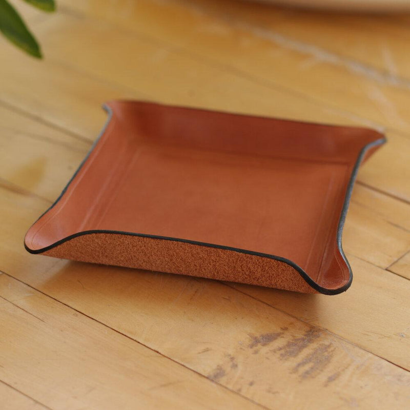 Zemper Goods Leather Catchall - Natural Zemper Goods