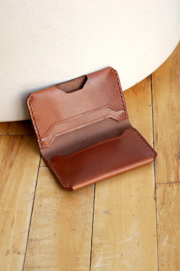 Zemper Goods Slim Wallet - Brown Zemper Goods