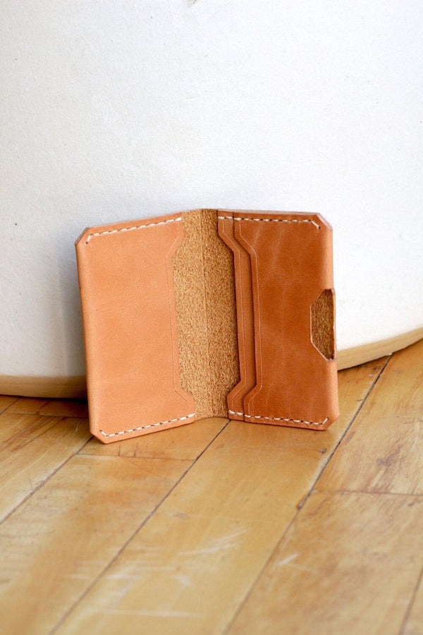 Zemper Goods Slim Wallet - Natural Zemper Goods