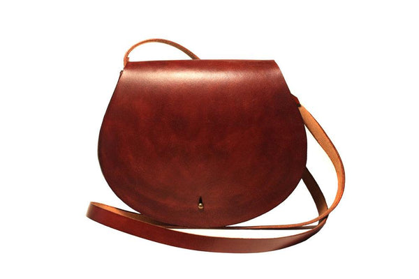 Zemper Goods Volpe Cross Body - Mahogany Zemper Goods