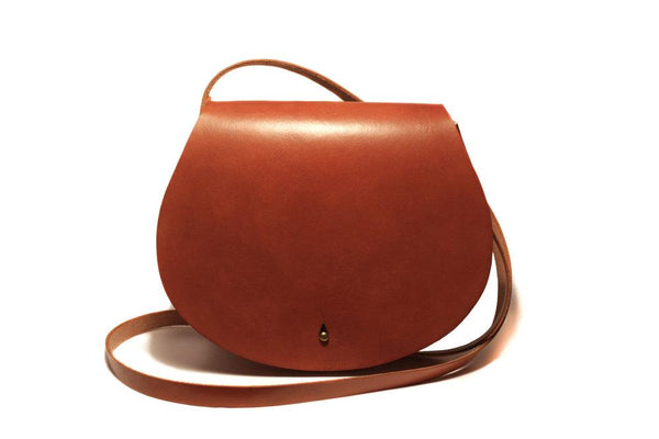 Zemper Goods Volpe Cross Body - Saddle Tan Zemper Goods