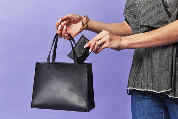 Zemper Goods Small Tote - Black Zemper Goods