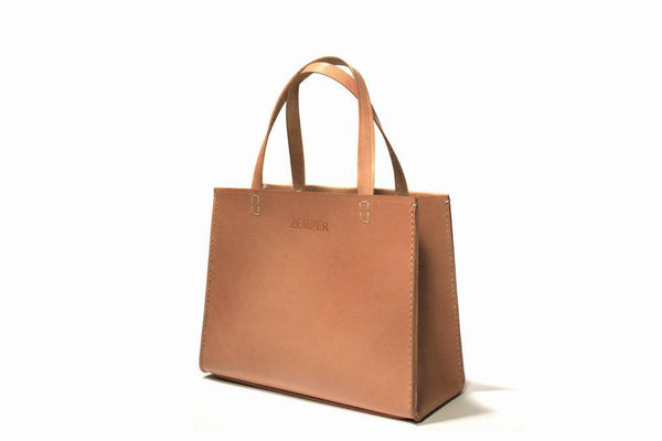 Zemper Goods Small Tote - Natural Zemper Goods
