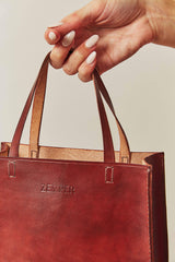 Zemper Goods Small Tote - Saddle Tan Zemper Goods-5010867847231