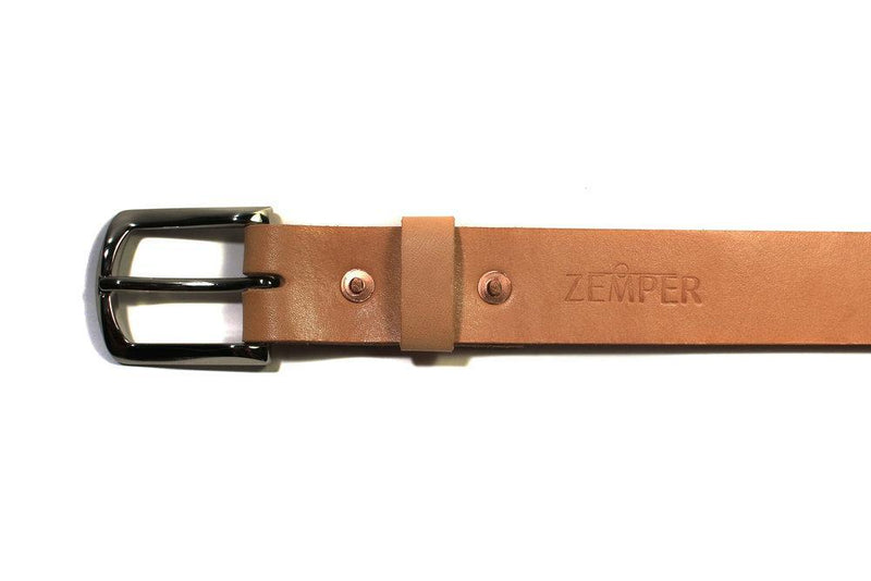 Zemper Goods Standard Belt - Natural Zemper Goods