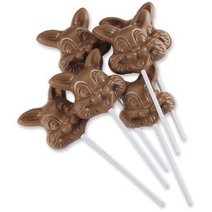 Milk Chocolate Bunny, Puppy, Kitten Pops | 6 oz - Niagara by Frey,