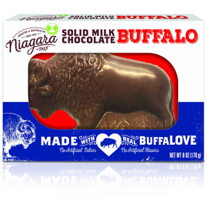 Solid Milk Chocolate Buffalo | 6 oz - Niagara by Frey, Milk Chocolate