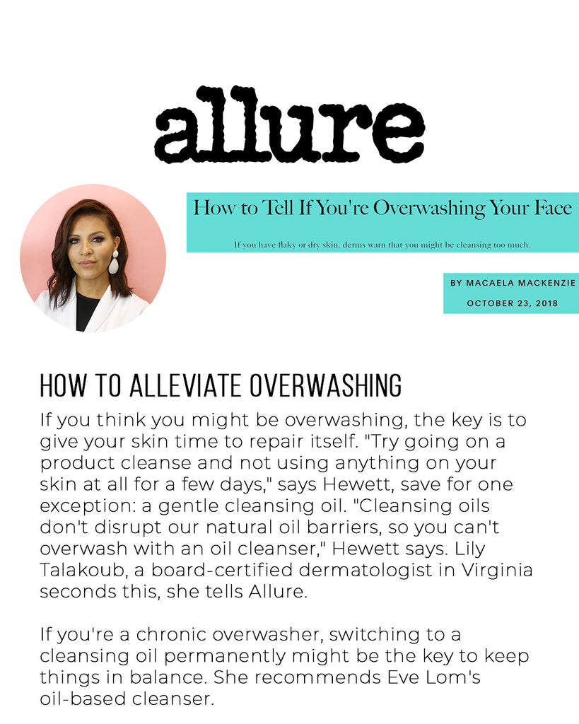 https://www.allure.com/story/over-washing-your-face-symptoms