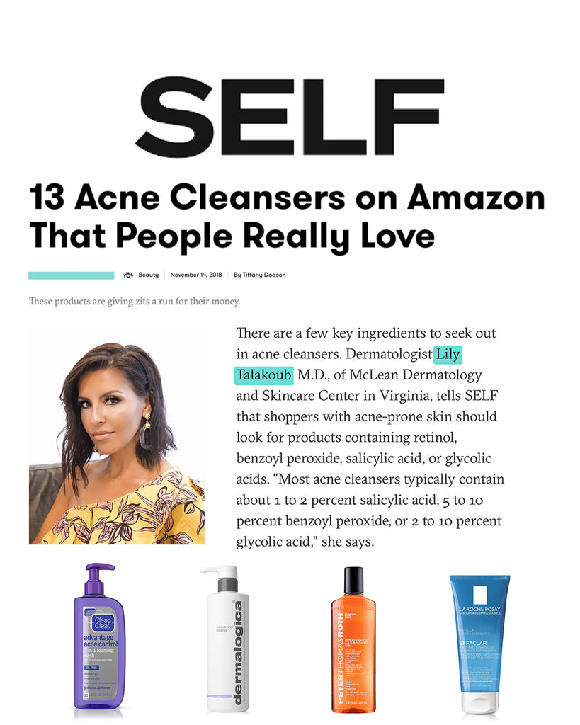 13 Acne Cleansers on Amazon That People Really Love