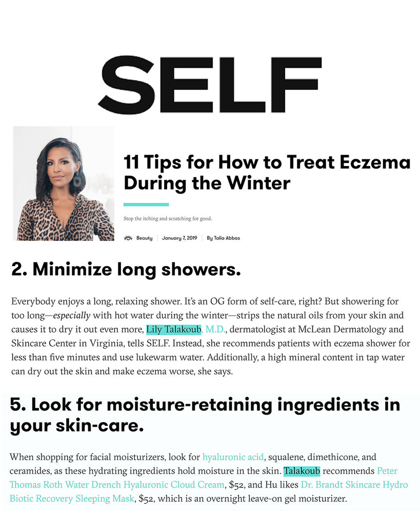 11 Tips for How to Treat Eczema During the Winter