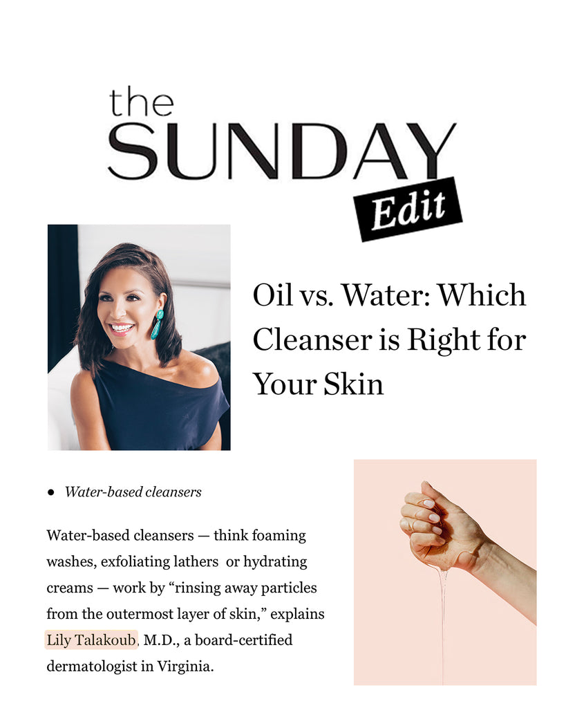 Oil vs. Water: Which Cleanser is Right for Your Skin