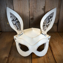 Rabbit | Python and Italian Leather Fetish Mask with Kidskin Lining
