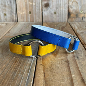 Kangaroo Leather Tag Collar | Build Your Own