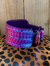 Reserved for E. L. | Holo Python Leather Dog Collar