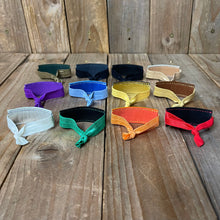 Upcycled Exotic Leather Hair Ties | Buy 3, Get 1 Free