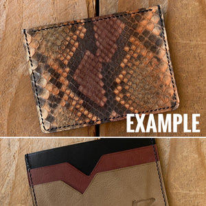 Mystery Python Card Wallet | Special Pricing!