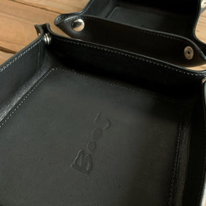 Italian Leather Valet Tray | Two Sizes | Available in Five Colors