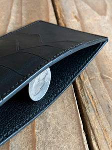 Italian Leather Slim Long Wallet