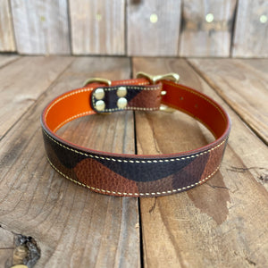 Italian Cowhide Leather Dog Collar | Ready To Ship