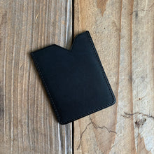 Italian Leather Micro Card Holder