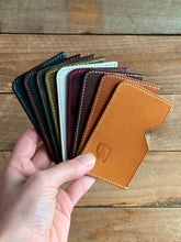 Prise du Jour | Upcycled Italian Leather Micro Card Holders