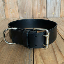 "Italian Leather Dog Collar | 1 3/4"" Buckle 