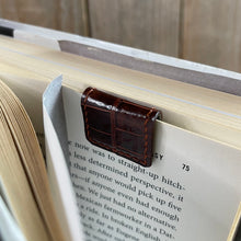 Prise du Jour | Upcycled Exotic Leather Magnetic Book Mark