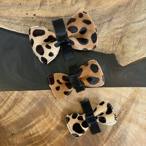 Leopard | Hair-On Calfskin Bow Tie | 3 Sizes