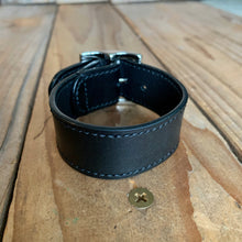 Italian Leather Single Buckle Cuff