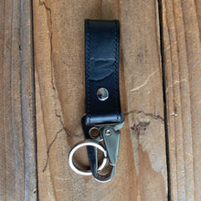 Italian Leather Key Lanyard