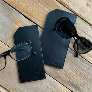 Italian Leather Eyewear Sleeve | Two Sizes | Available in Five Colors
