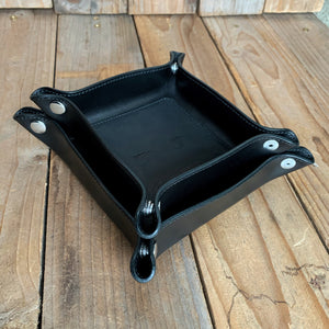 Italian Leather Valet Tray | Two Sizes