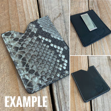 Mystery Python Micro Card Holder | Special Pricing!