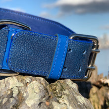 Reserved for S. L. | Stingray Leather Dog Collar