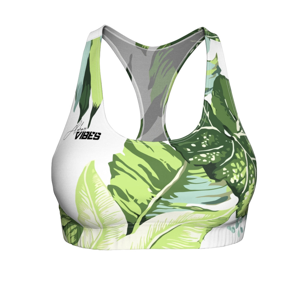 The Love of Palms Sports Bra