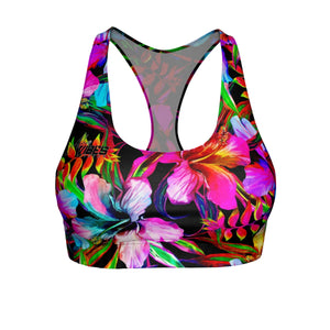 Tropical Heaven Sports Bra