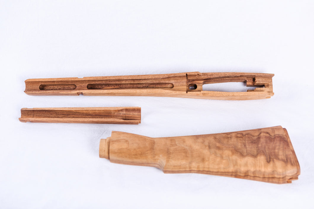 Premium Lee Enfield No.1 MK5 Jungle Carbine Wood Restoration Kit Serial Number #0007