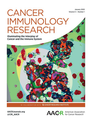Cancer Immunology Research current issue