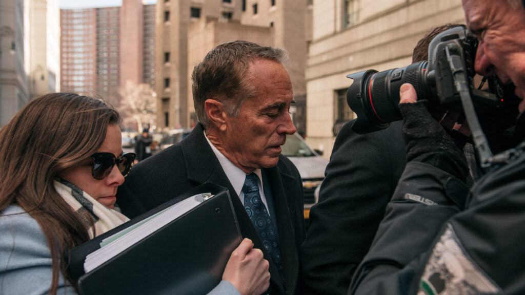 Chris Collins sentenced to 26 months in biotech insider trading scheme