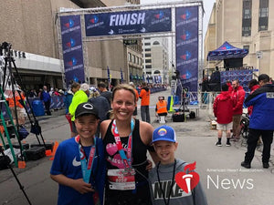 Athletic mom's undiagnosed condition led to 2 strokes