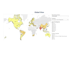 Dynata's Global COVID-19 Symptom Map can help organizations respond to ongoing pandemic