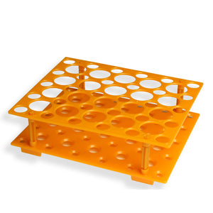 15 50ml PCR Tube Rack,Used to Store 30pcs 15ml PCR Tube,20pcs 50ml PCR Tube