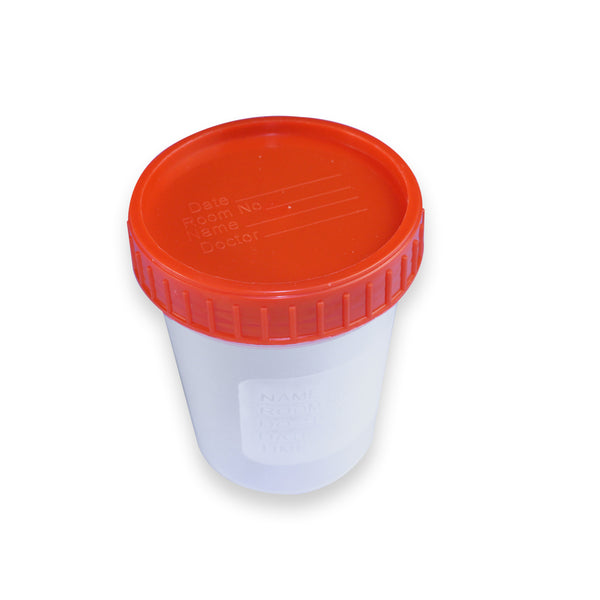 120ml Specimen Cup, With Graduation, Individual Pack, E.O. Sterile PP