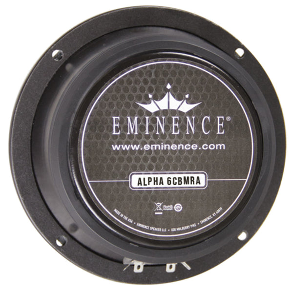 "Eminence ALPHA-6CBMRA 6"" Speaker 100w 8 Ohms - The Speaker Factory"