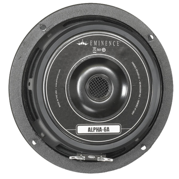 "Eminence ALPHA-6A 6"" Speaker 100w 8 Ohm - The Speaker Factory"